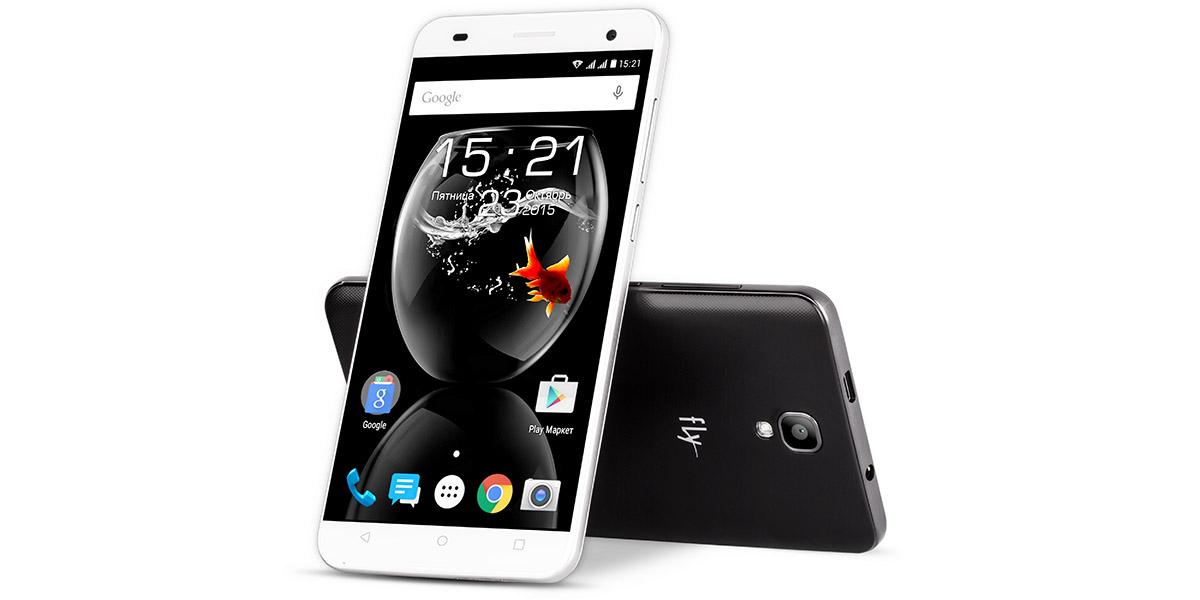 Fly Cirrus 2 FS504 - смартфон с IPS-экраном за семь с лишним тысяч рублей