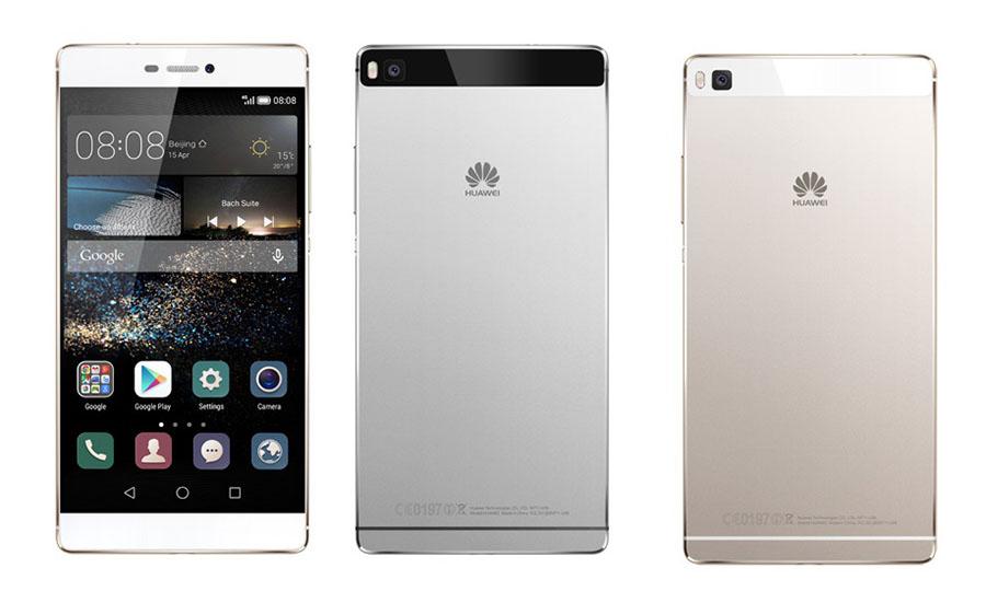 Huawei P8 бело-золотой