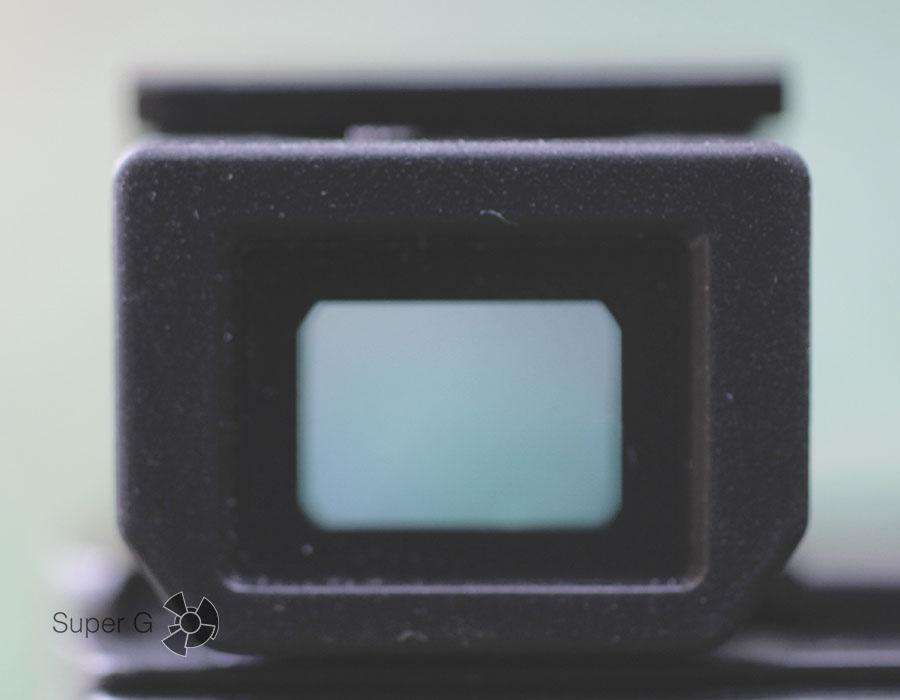 OLED-видоискатель в камере Sony RX100M4
