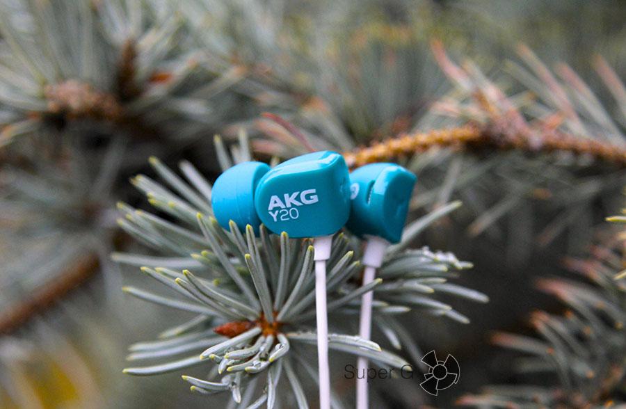 Гарнитура для смартфона AKG Y20