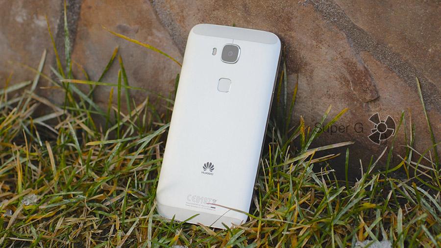 Дизайн Huawei G8