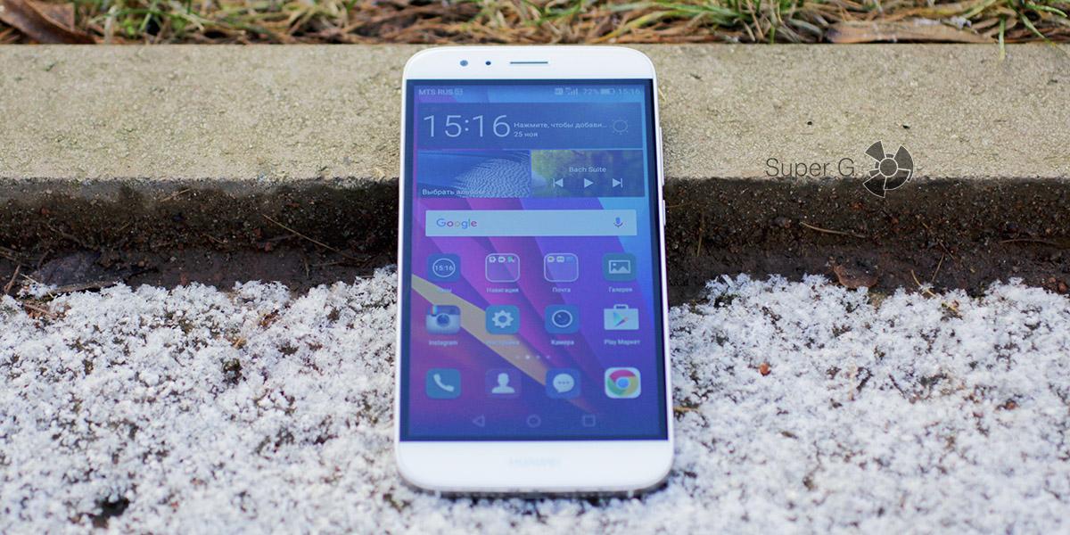 Технические характеристики Huawei G8