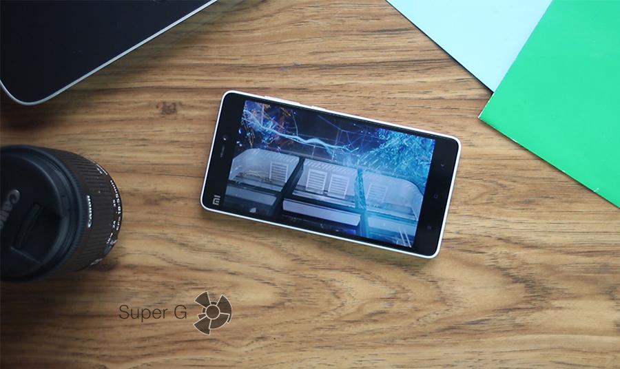 Xiaomi mi4c экран 2