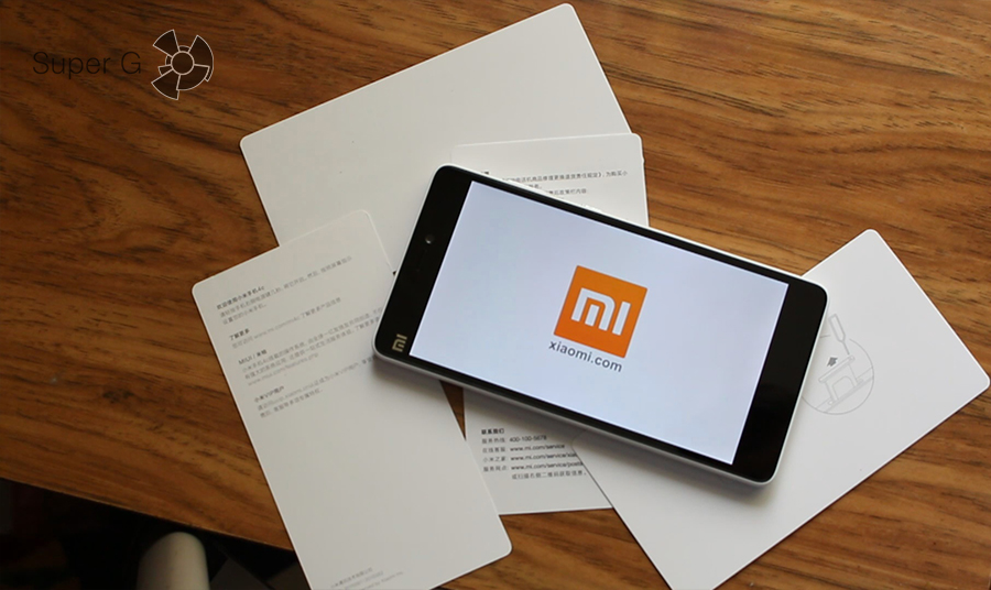Xiaomi mi4c экран