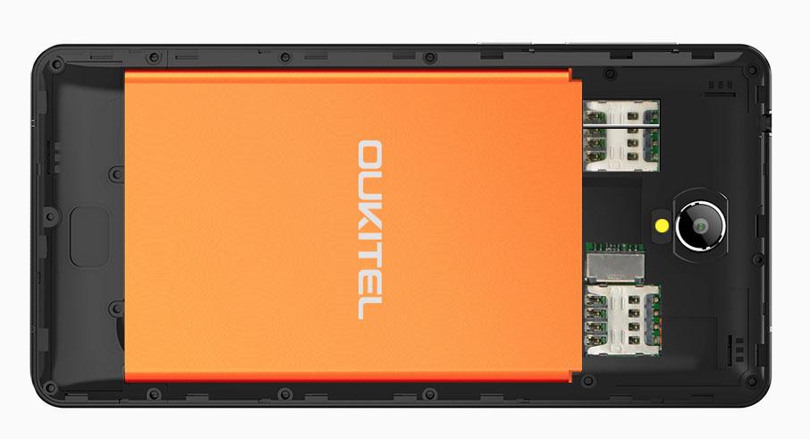 Аккумулятор в Oukitel K4000 на 4000 мАч