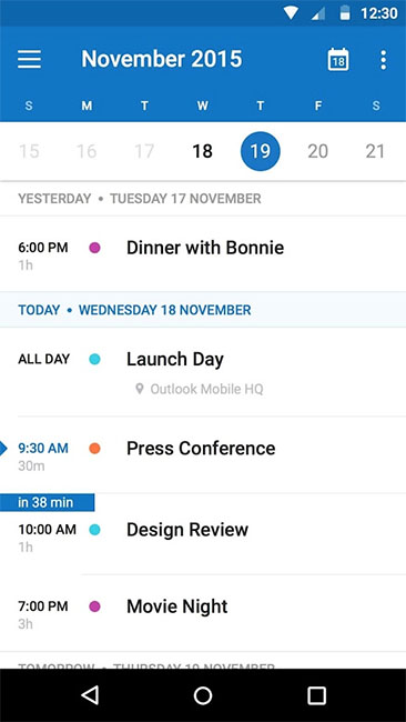 Интеграция Microsoft Outlook с календарем