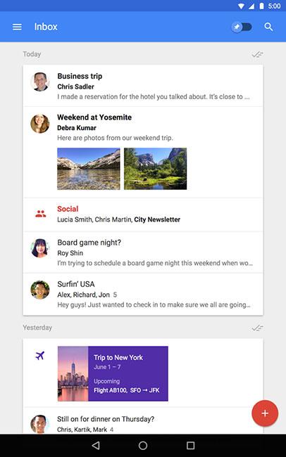 Почтовое приложение Google