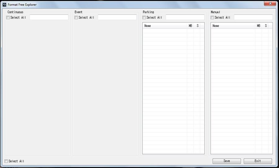 Приложение для конвертации видео с регистратора Thinkware Dash Cam H50