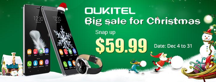 Рождественская распродажа от OUKITEL