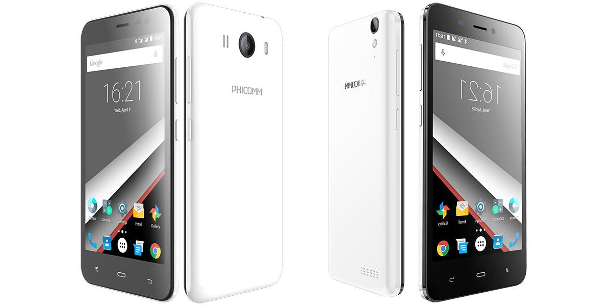 Смартфоны Phicomm E653 и C630 теперь официально в России