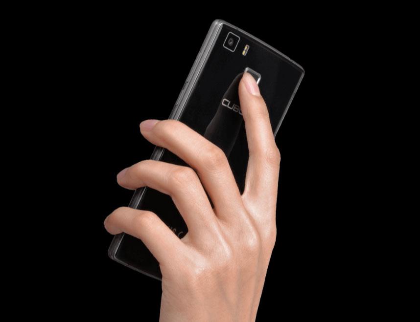 Черный смартфон Cubot S600