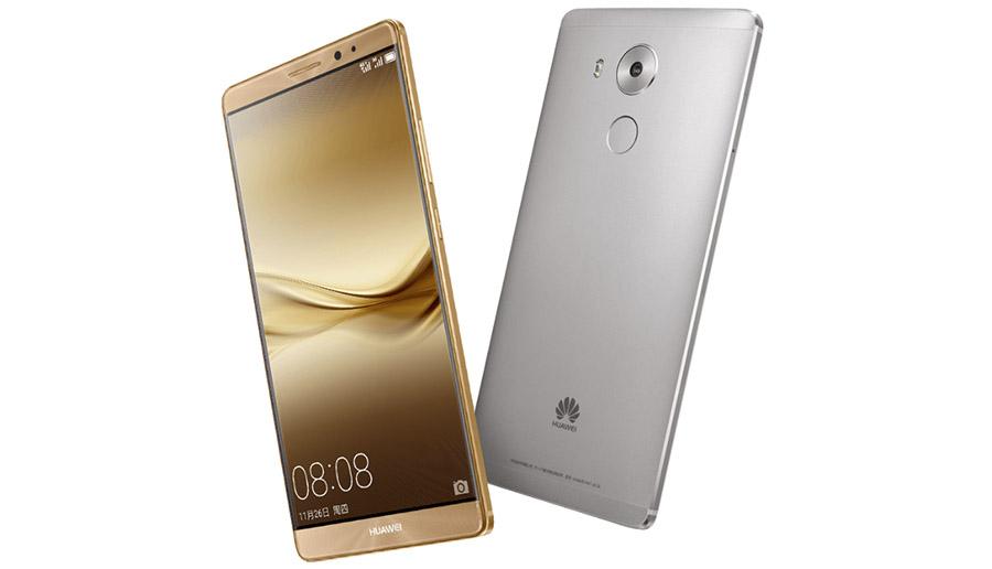 Реальные фото Huawei Mate 8 золотой и серый