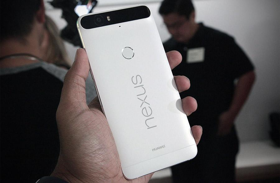 Huawei Nexus 6P металлический корпус