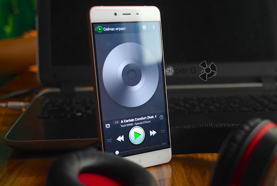 Качество звука OnePlus X