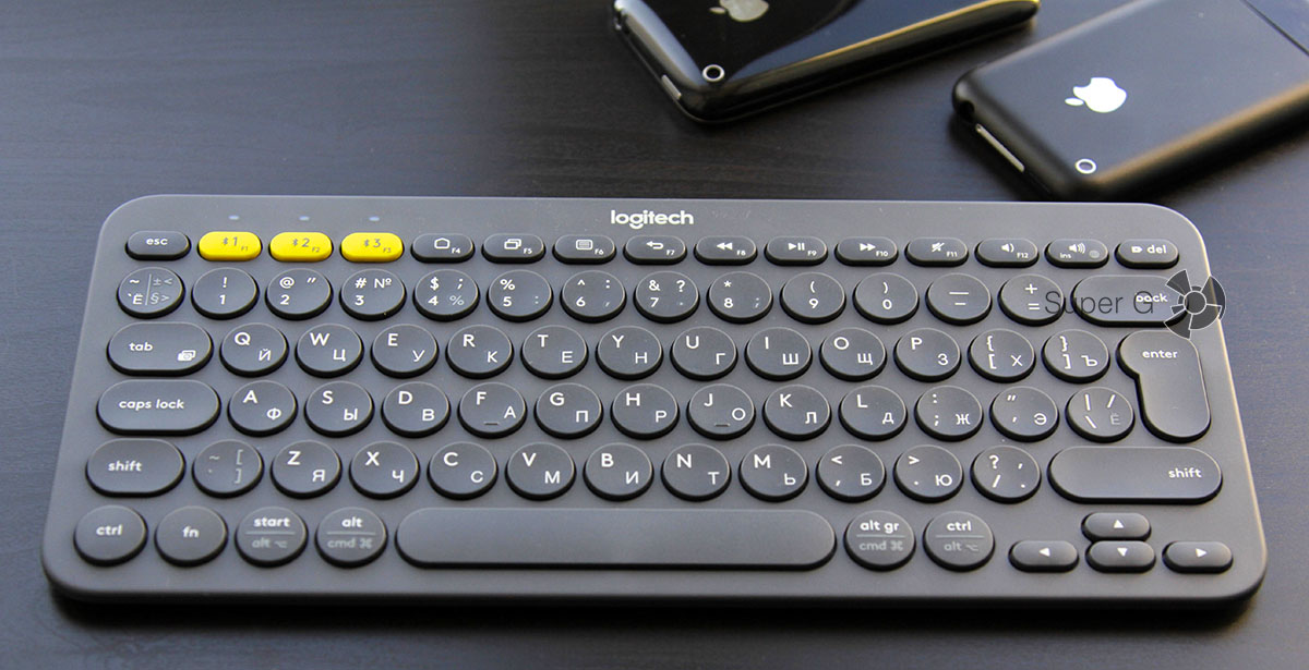 Отзыв по беспроводной клавиатуры Logitech K380