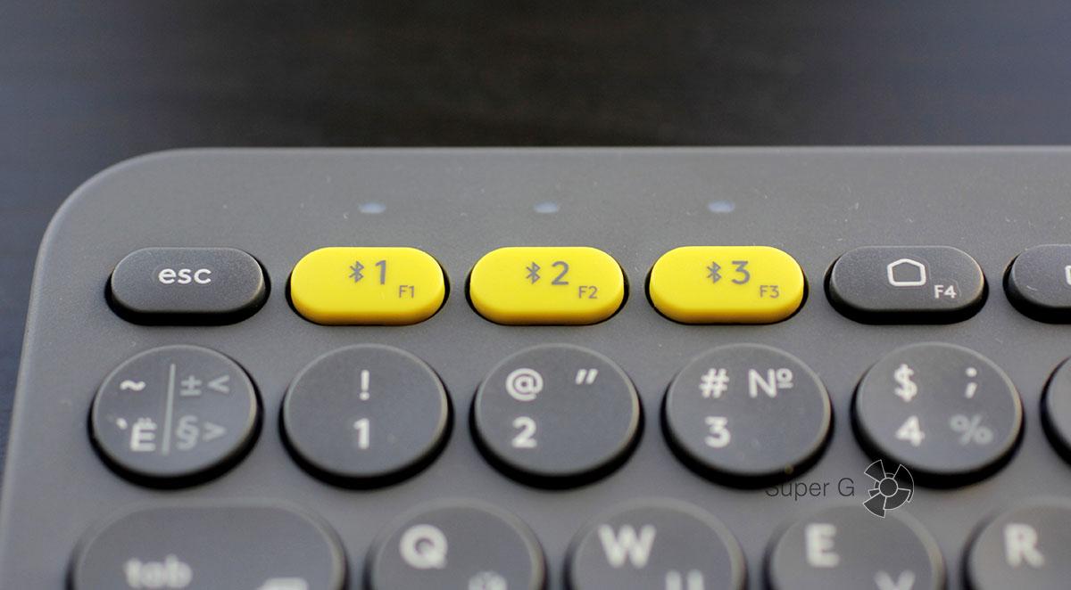 Клавиши Easy-Switch