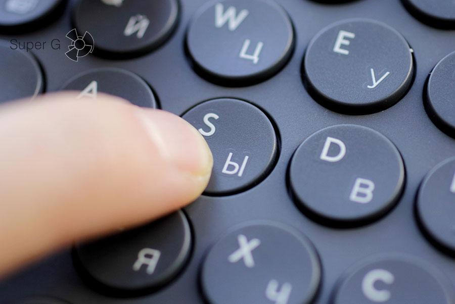 Ход кнопок на клавиатуре