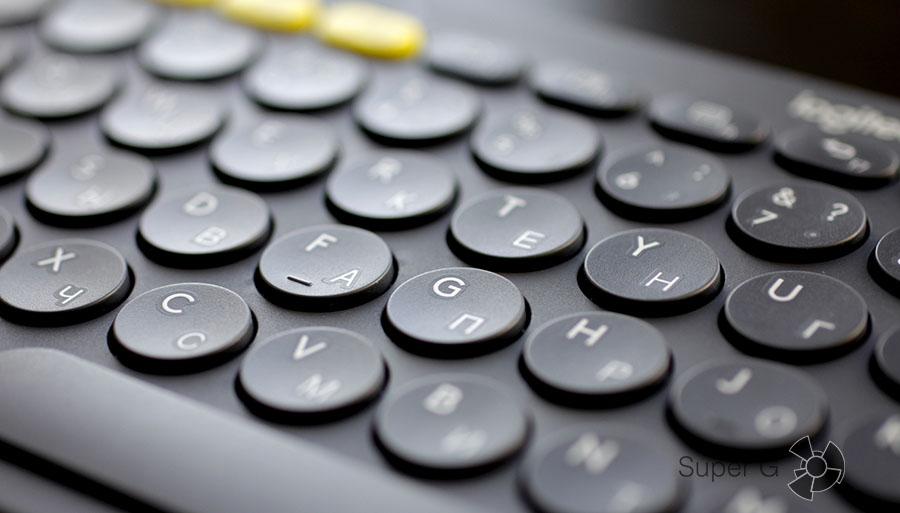 Беспроводная клавиатура Logitech K380 для планшета или компьютера