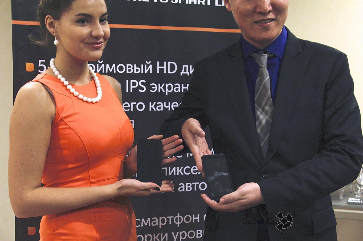 Смартфоны Phicomm Clue 630 и Phicomm Energy 653 представлены в России официально