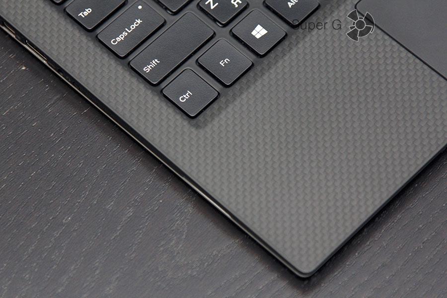 Покрытие Soft Touch поверх углеродного волокна