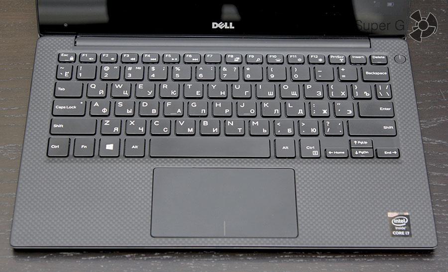 Полноразмерная клавиатура в Dell XPS 13