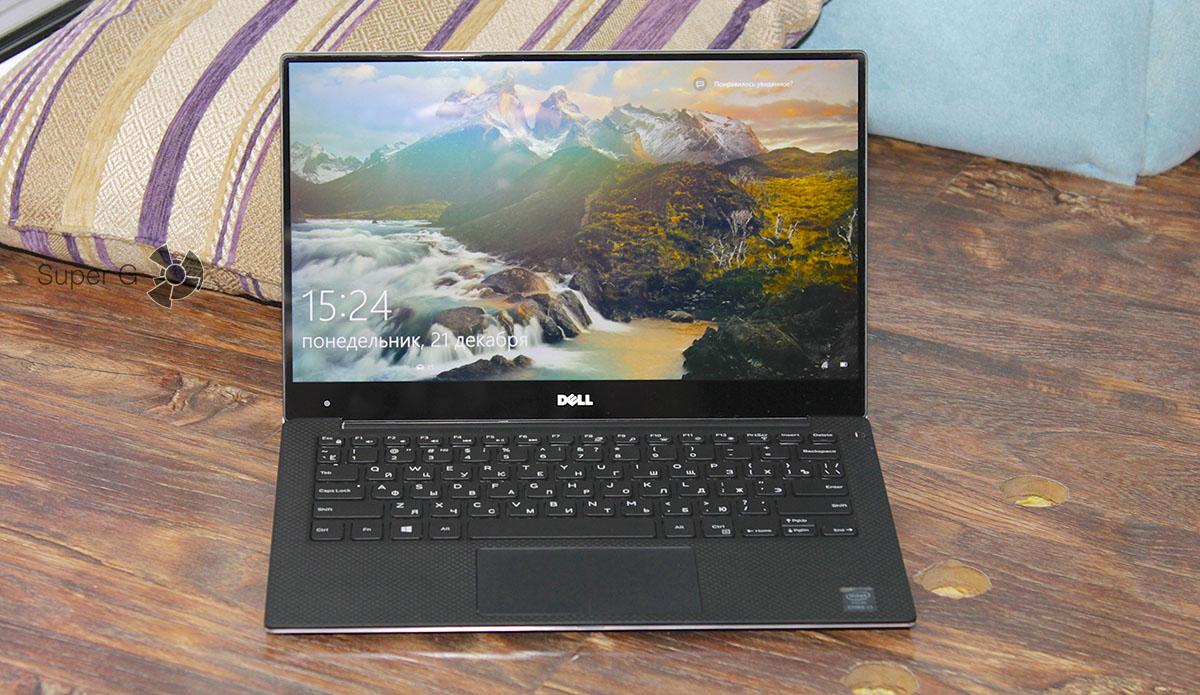 Очень тонкие рамки вокруг дисплея Dell XPS 13