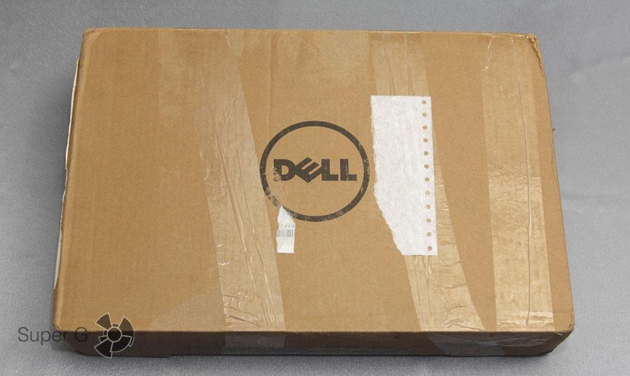Распаковка Dell XPS 13