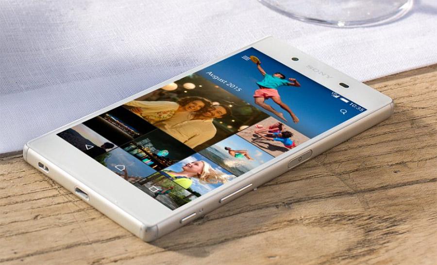 Белый Sony Xperia Z5