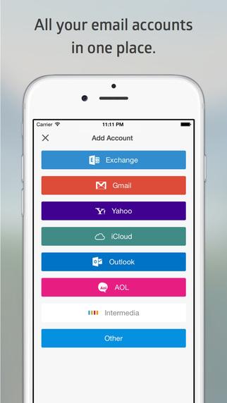 Добавление учетной запичи в Boxer для iPhone (Lite)