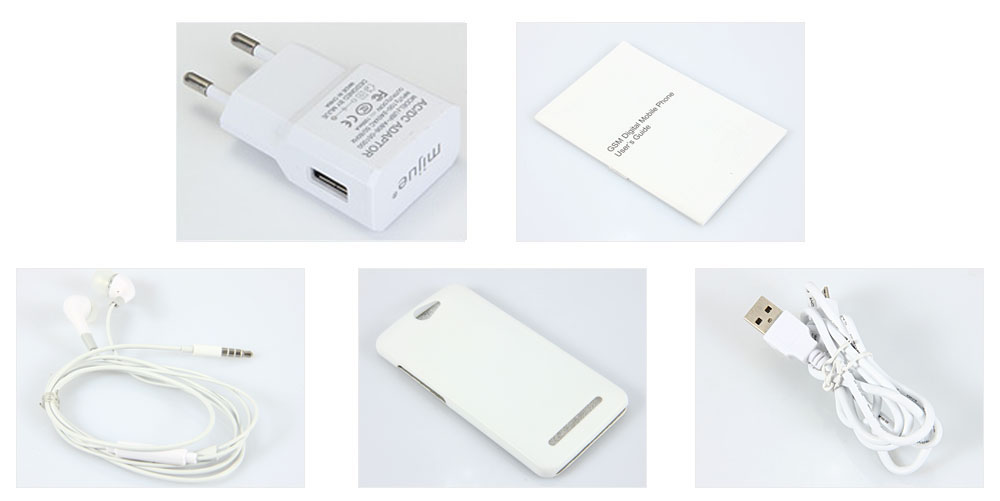 Комплектация смартфона MIJUE T200