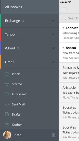 Настройка почты в приложении CloudMagic Email