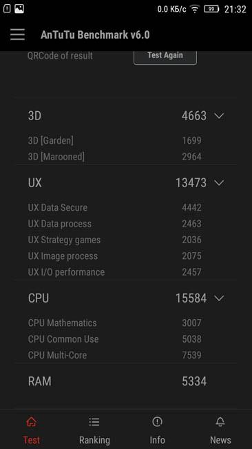 Подробнее о тесте Lenovo A7000 в AnTuTu 6