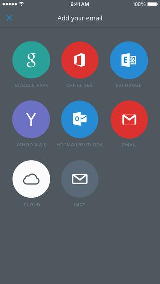 Приложение CloudMagic Email для iOS