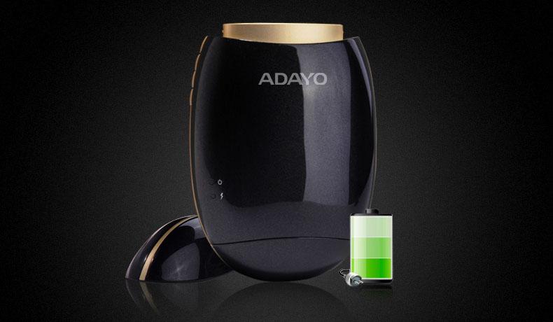 Проектор ADAYO P2 оснащен собственным аккумулятором