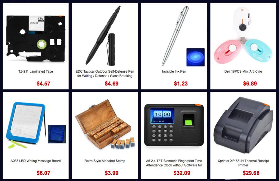 Распродажа разных товаров и подарков на Gearbest