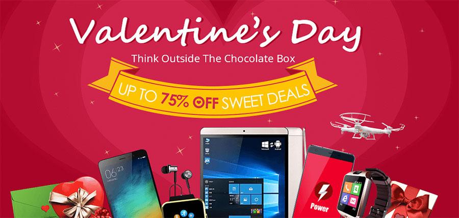 Распродажу ко дню Всех Влюбленных на сайте Everbuying.com