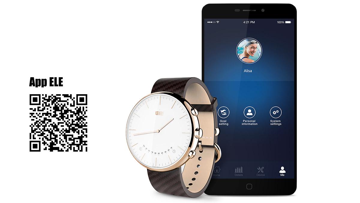 Скачать приложение ELE для умных часов Elephone W2
