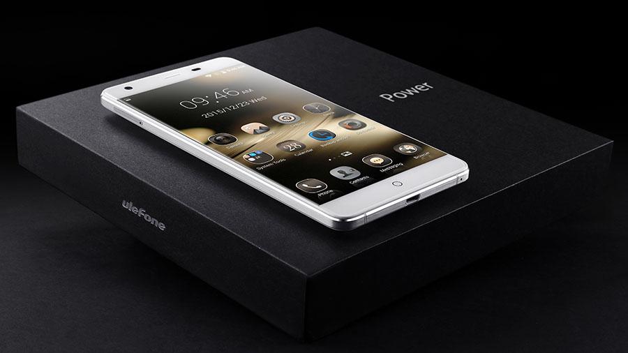 Упаковка и комплектация смартфона Ulefone Power