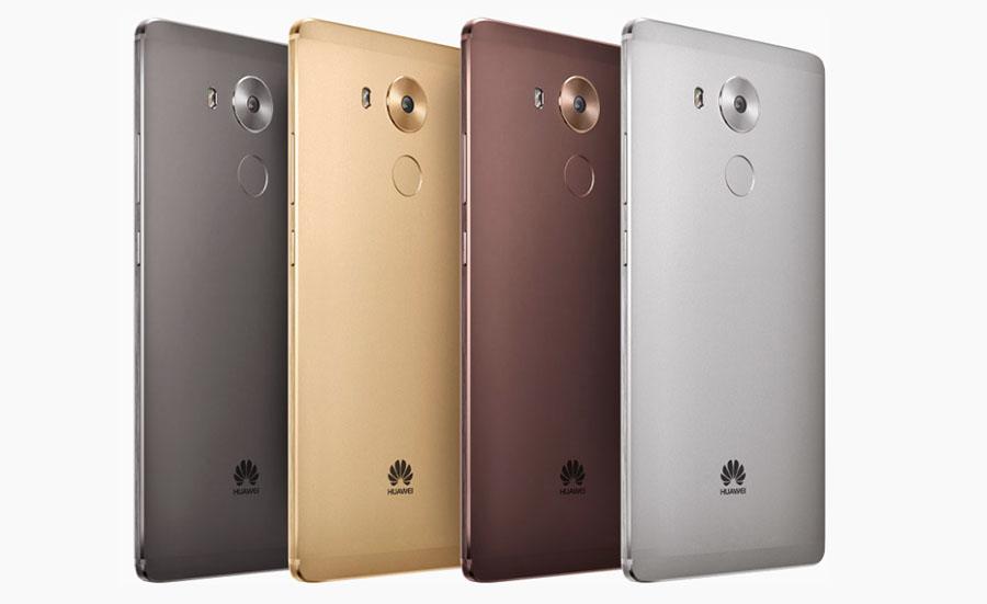Цвета корпуса и модели Huawei Mate 8