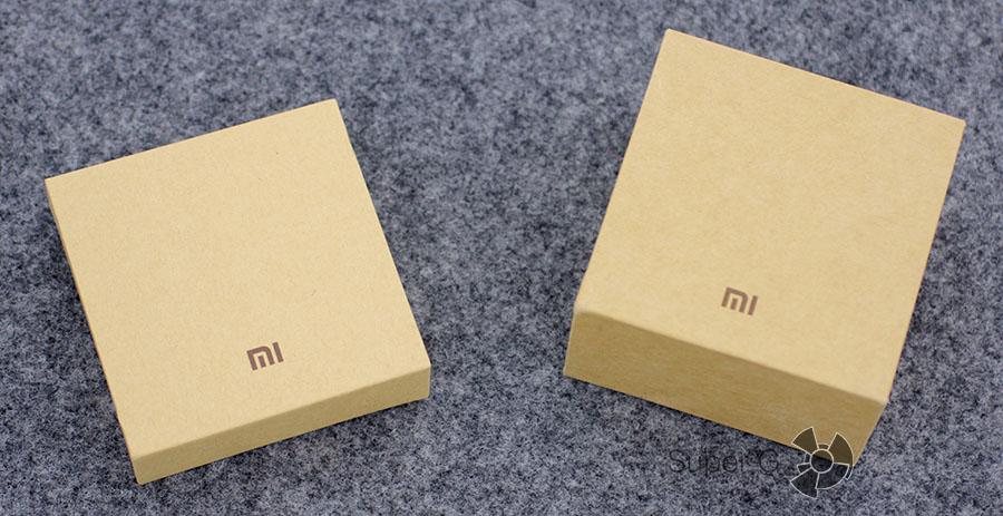 Сравнение коробки от Xiaomi Mi Band 1S и Xiaomi Mi Band