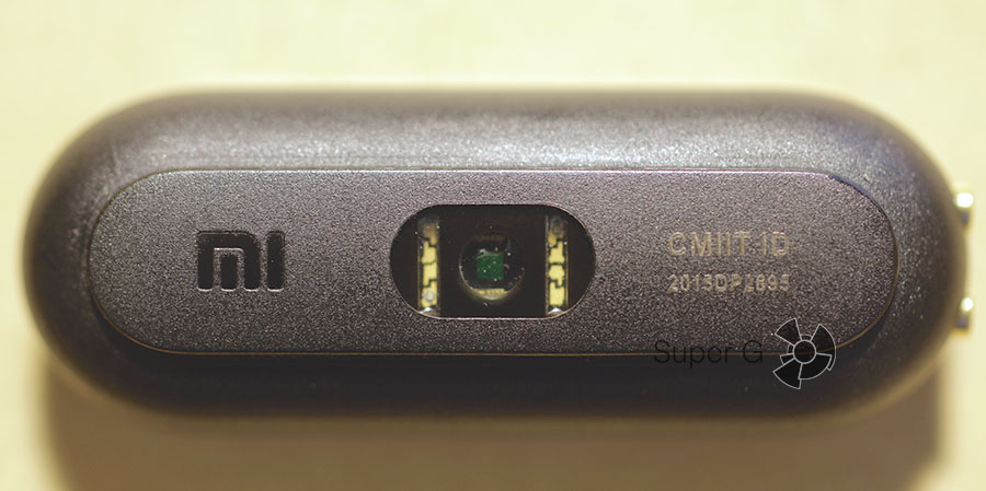 Светодиоды и датчик для измерения пульса