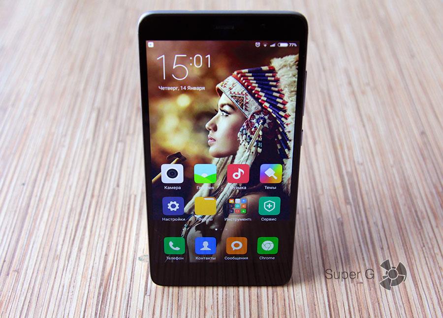 Дизайн и корпус Xiaomi Redmi Note 3