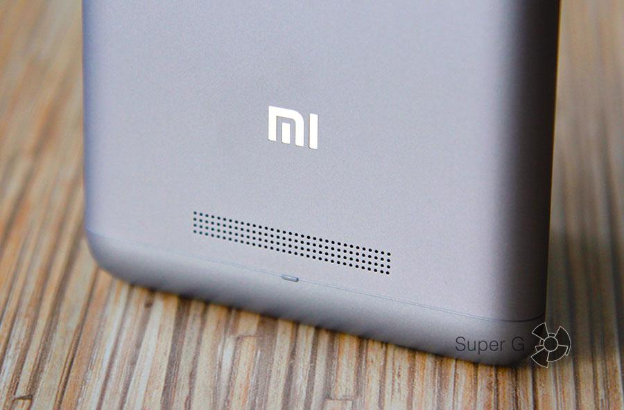 Динамик и громкость Xiaomi Redmi Note 3