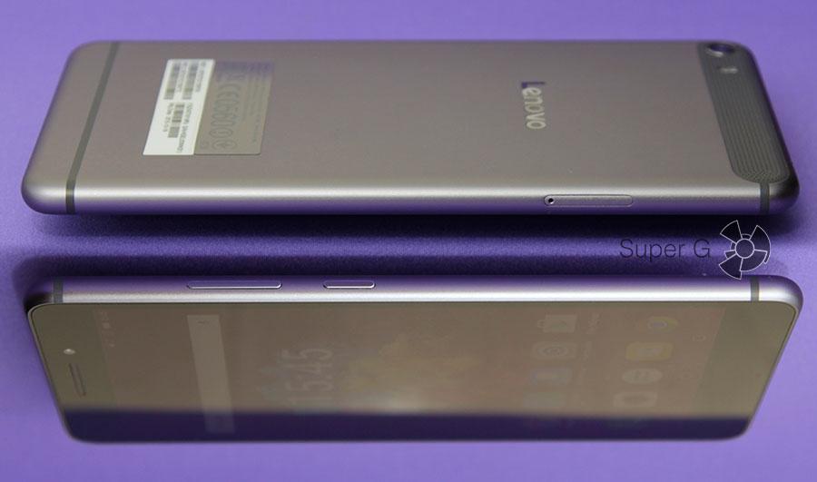 Боковые стороны смартпэда от Lenovo