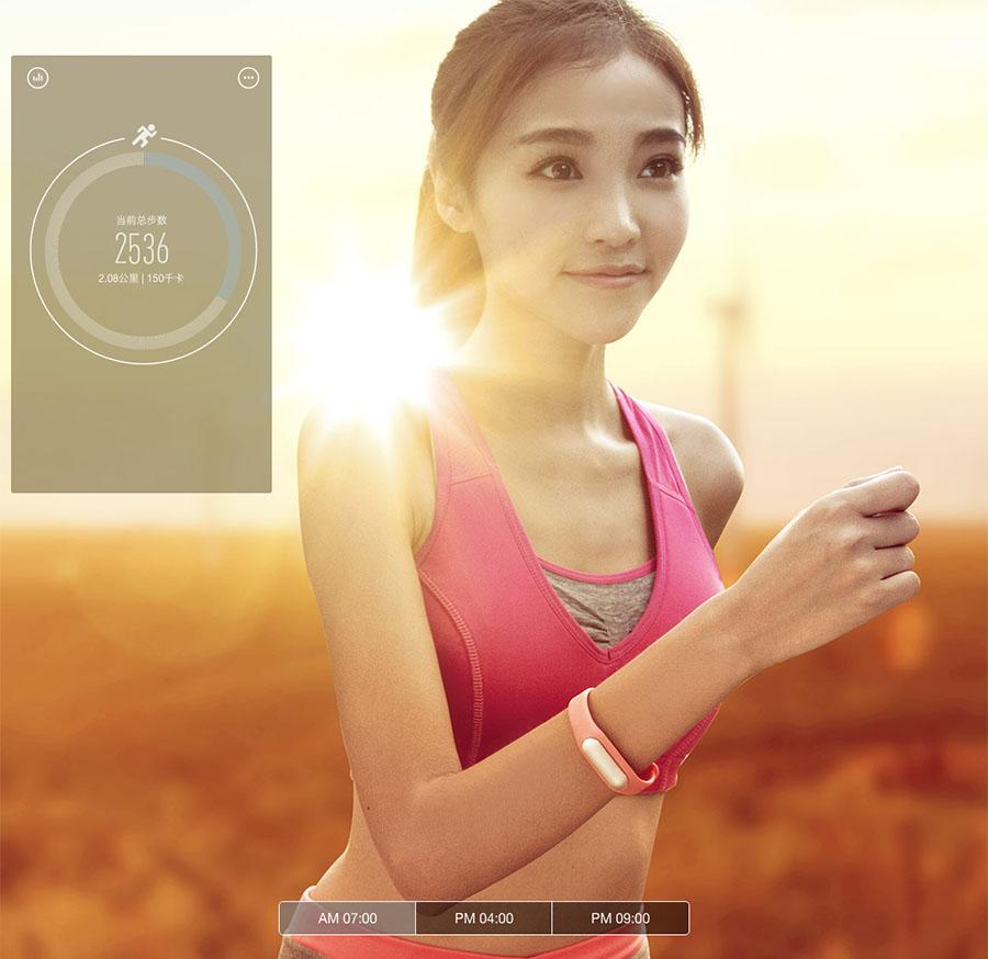 Xiaomi Mi Band 1S шагомер для бега