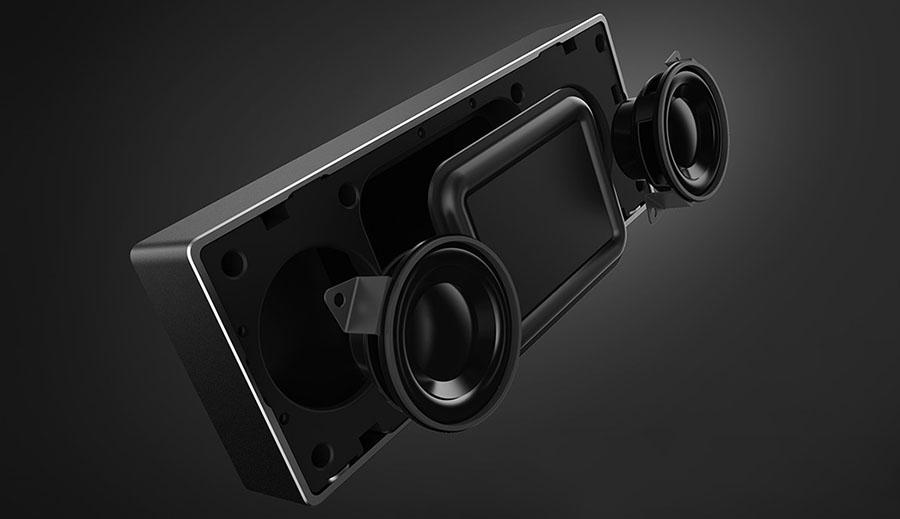 Два встроенных динамика в Xiaomi Bluetooth Speaker