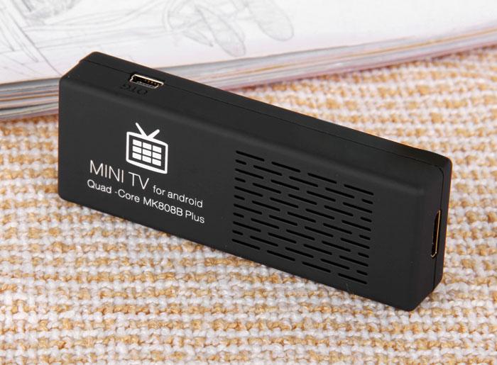 Крошечная ТВ-приставка MK808B Plus