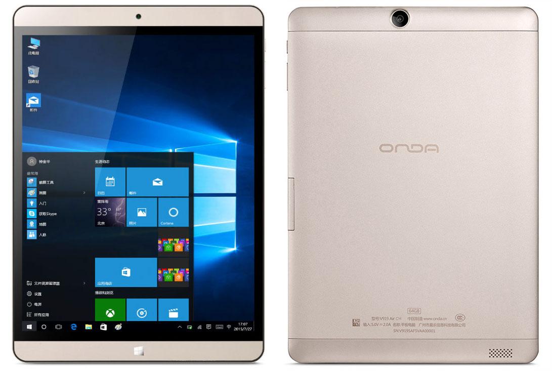 Купить планшет с Windows 10 Onda V919 Air