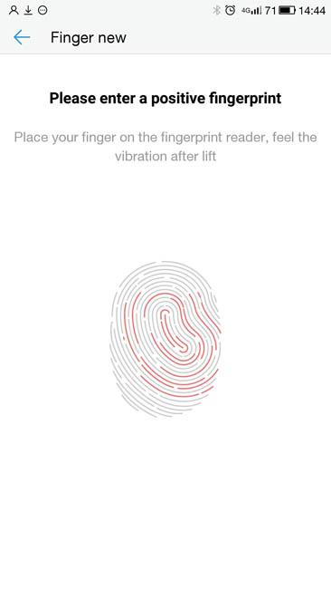 Сканер отпечатков пальцев LeTV Le 1s