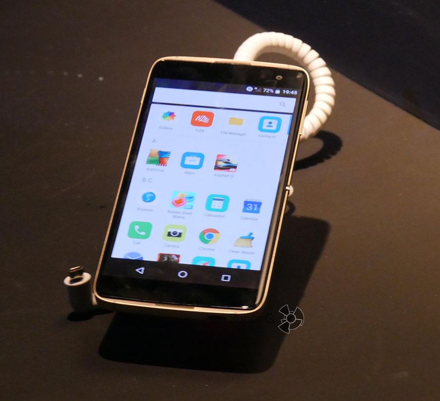 Характеристики смартфона Alcatel IDOL 4